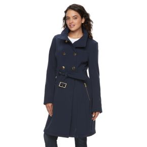 Women's LNR Fashion Styles Belted Trench Coat