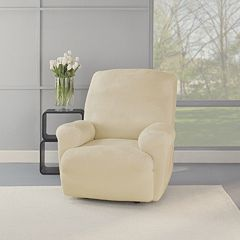 Sure Fit Stretch Plush Recliner Slipcover