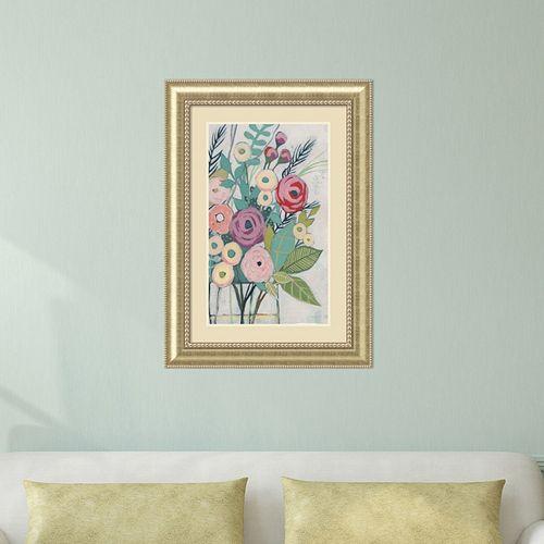 Amanti Art Soft Spring Bouquet I Framed Wall Art