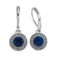 Napier Round Nickel Free Drop Earrings