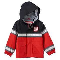 Baby Boy Carter's 'Firefighter' Water-Resistant Lightweight Jacket