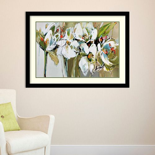Amanti Art Spring Blooms Framed Wall Art
