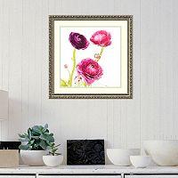 Amanti Art Spring Ranunculus I Framed Wall Art