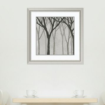 Amanti Art Spring Trees Graystone I Framed Wall Art
