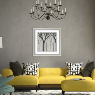 Amanti Art Spring Trees Graystone I Framed Wall Art