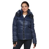 Women's S13 Kylie Faux-Fur Trim Down-Fill Puffer Jacket