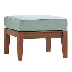 HomeVance Glen View Patio Ottoman