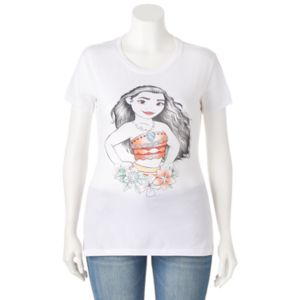Disney's Moana Juniors' Plus Size Graphic Tee