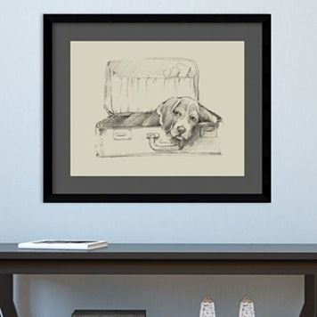 Amanti Art Stowaway II Framed Wall Art