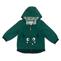 Baby Boy Carter's Monster Face Lightweight Rain Jacket
