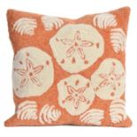 Liora Manne Shell Toss Throw Pillow