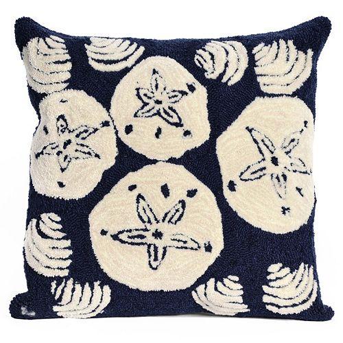 Liora Manne Shell Toss Throw Pillow