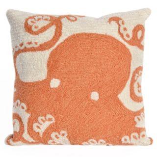 Liora Manne Octopus Throw Pillow