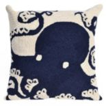 Liora Manne Octopus Throw Pillow