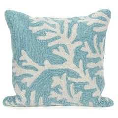Liora Manne Coral Throw Pillow