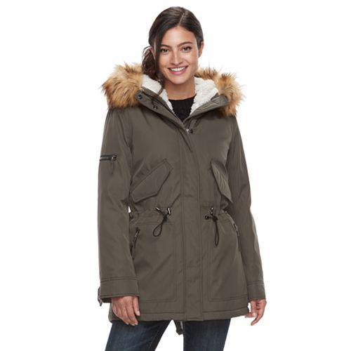 8be4e840254 Women s S13 Canyon Hooded Faux-Fur Trim Parka