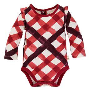 Baby Girl Burt's Bees Baby Organic Ruffle Sleeve Bodysuit & Bubble Jumper Set