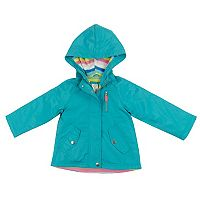 Girls 4-8 Carter's Midweight Fleece Lined Windbreaker