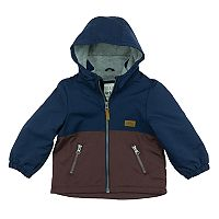 Baby Boy Carter's Colorblocked Fleece-Lined Midweight Barn Jacket