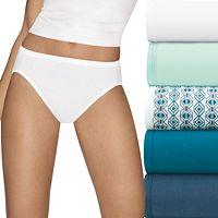 Hanes Ultimate 6-pk. Ultra Soft Cotton Comfort Hi-Cut Briefs 43HUC6
