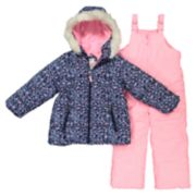 Girls 4-8 Carter's Jacket & Snowpants Set