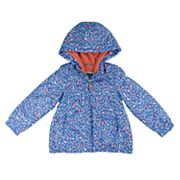 Girls 4-8 OshKosh B'gosh® Midweight Fleece-Lined Printed Jacket