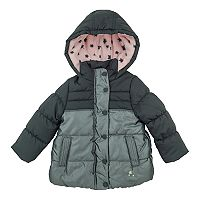 Girls 4-6x OshKosh B'gosh® Heavyweight Star Colorblock Shimmer Jacket