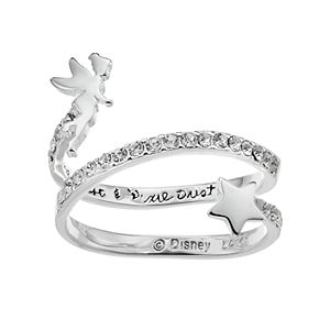 Disney's Tinkerbell Crystal Bypass Ring