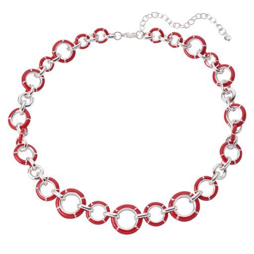 Napier Circle Link Necklace