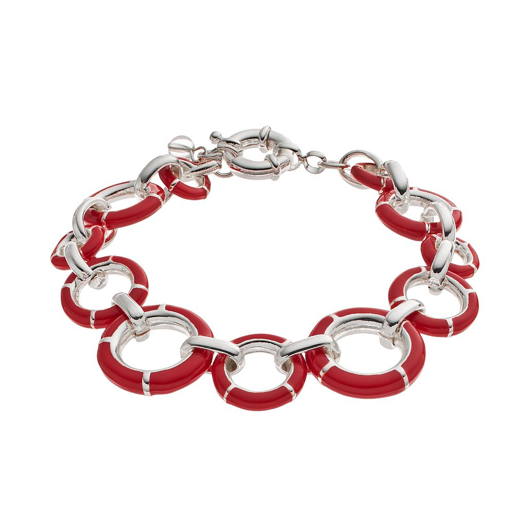 Napier Circle Link Bracelet