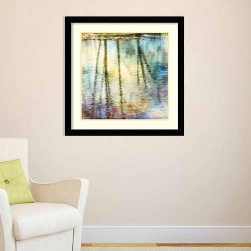 Amanti Art Sunset Ripple 1 Framed Wall Art