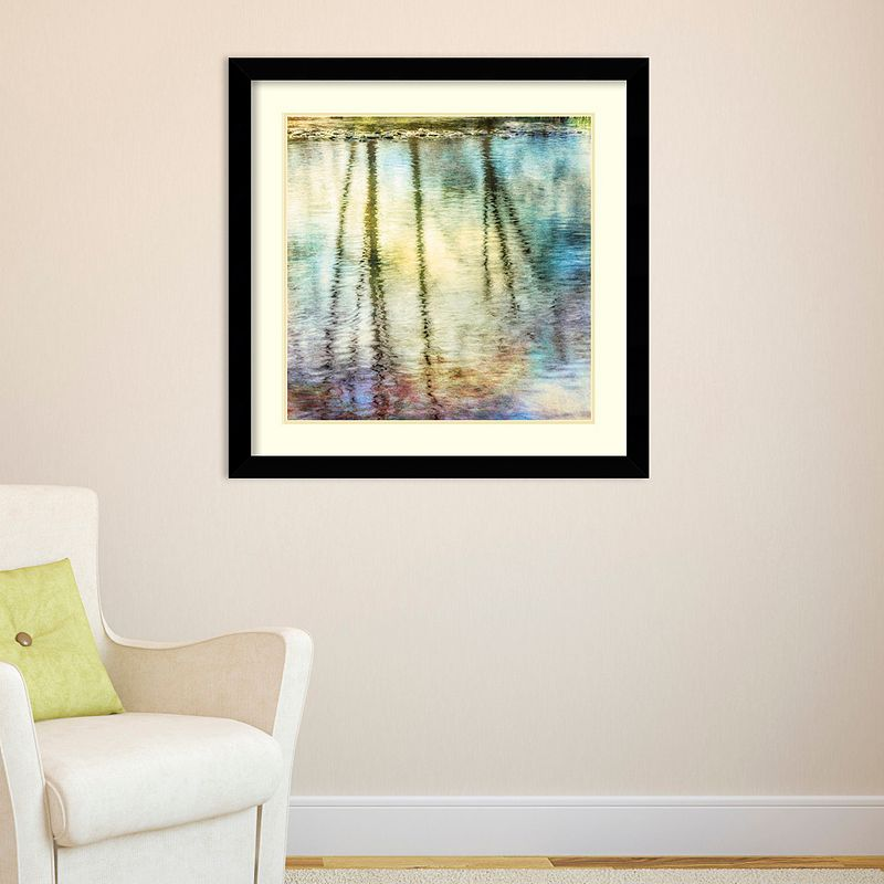 Amanti Art Sunset Ripple 1 Framed Wall Art, Medium