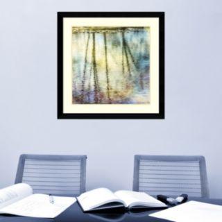 Amanti Art Sunset Ripple 1 Framed Wall Art