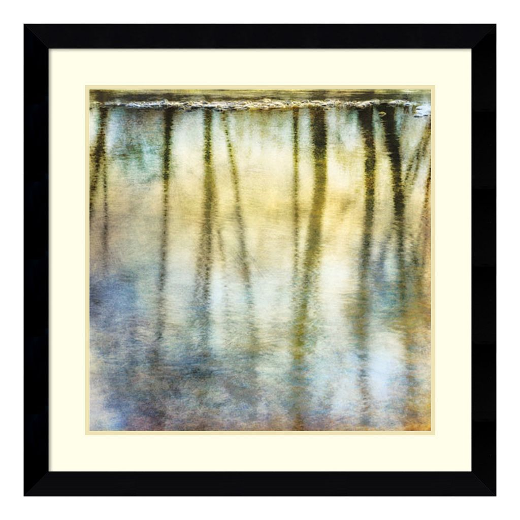 Amanti Art Sunset Ripple 2 Framed Wall Art