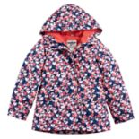 Girls 4-8 OshKosh B'gosh® Lightweight Heart Print Windbreaker Jacket