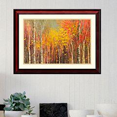 Amanti Art Tangled Colors Framed Wall Art