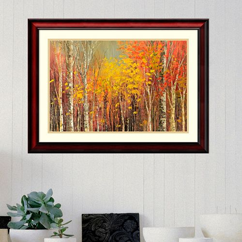Amanti Art Tangled Colors Framed Wall Art