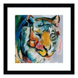 Amanti Art Tiger Tiger Framed Wall Art