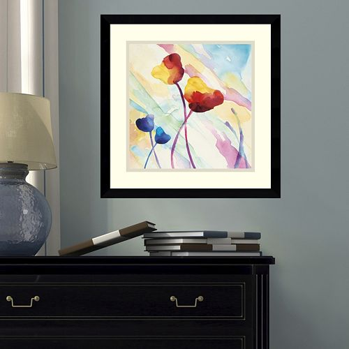Amanti Art Tilt Tulips II Framed Wall Art