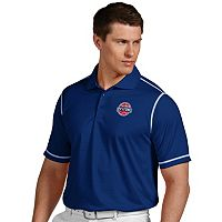 Men's Antigua Detroit Pistons Icon Polo