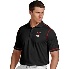 Men's Antigua Miami Heat Icon Polo