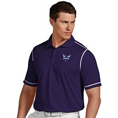 Men's Antigua Charlotte Hornets Icon Polo