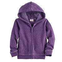 Toddler Girl Jumping Beans® Lurex-Trim Hoodie