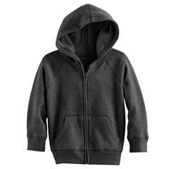 Toddler Boy Jumping Beans® Fleece-Lined Softest Zip Hoodie