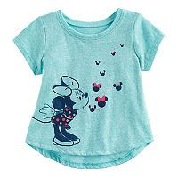 Disney's Minnie Mouse Baby Girl Shirtail Graphic Tee by Jumping Beans®