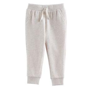 Jumping Beans® Baby Girl Fleece-Lined Jogger Pants