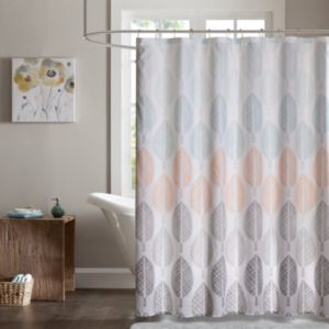 Madison Park Essentials Pelham Bay Printed Shower Curtain