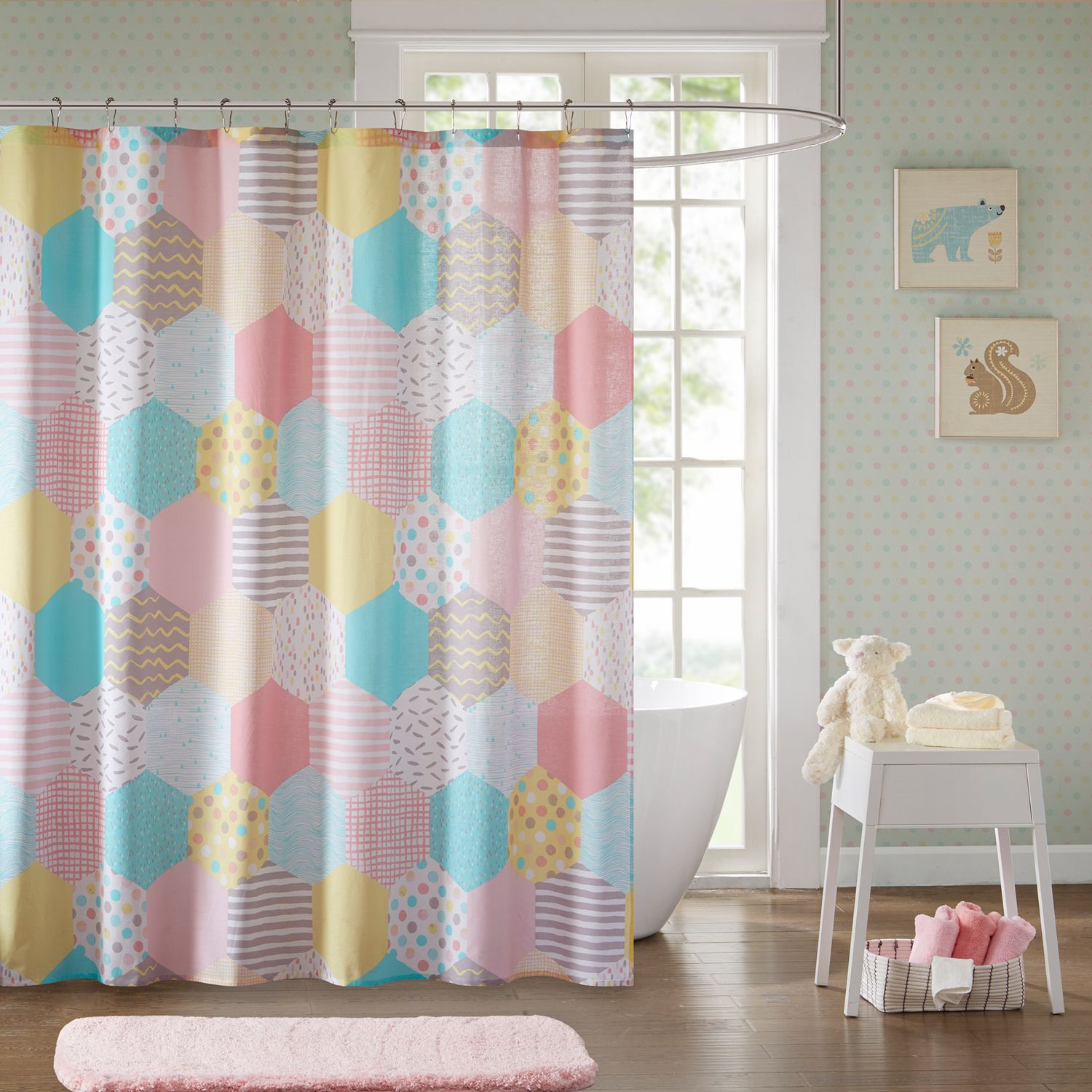 Urban Habitat Kids Evie Printed Shower Curtain