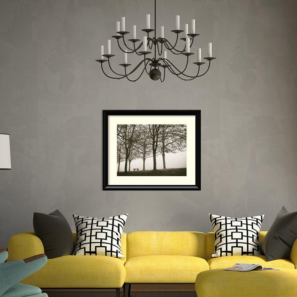 Amanti Art Trees In Fog VI Framed Wall Art