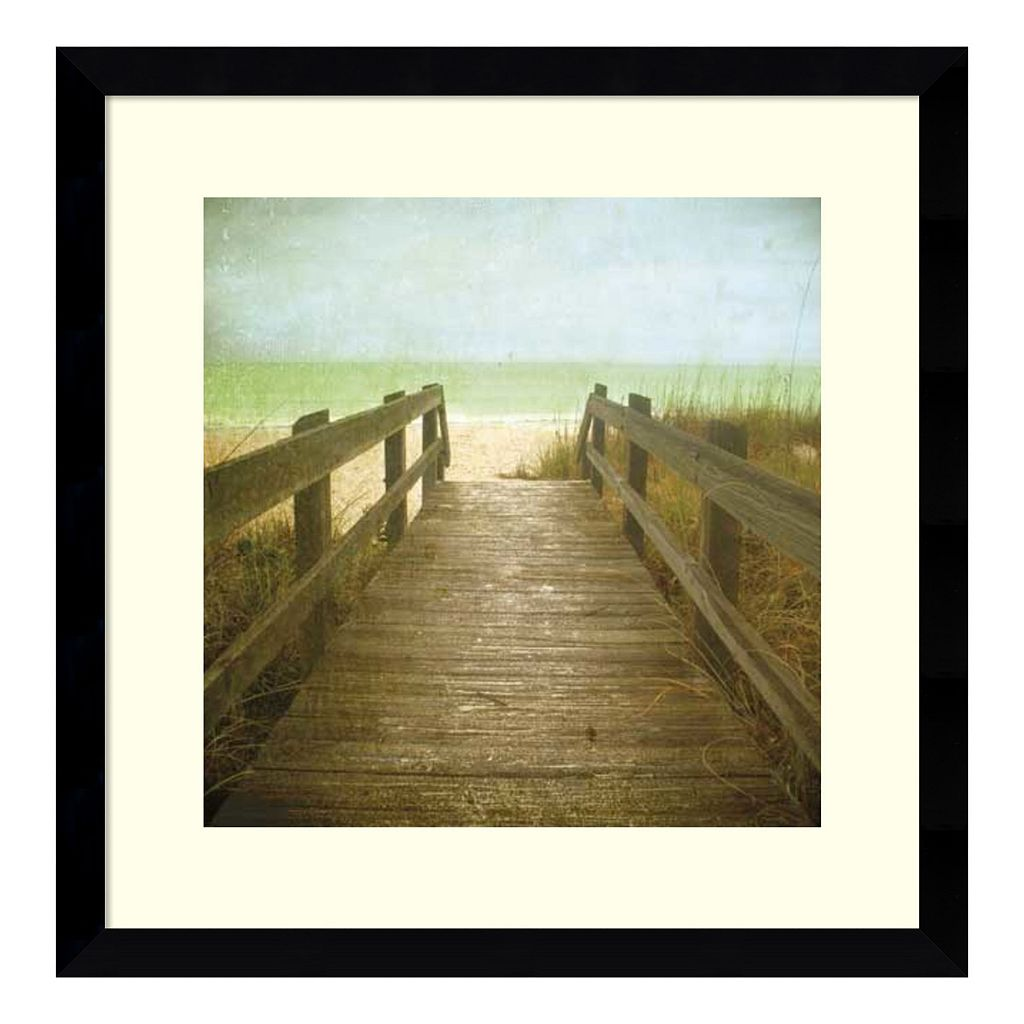Amanti Art Twenty One Steps Framed Wall Art